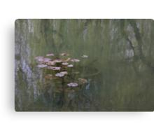 Waterlillies (Monet's Garden) Canvas Print