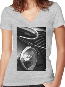 1939 Ford Coupe Women's Fitted V-Neck T-Shirt