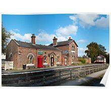 Hadlow Train Station Poster