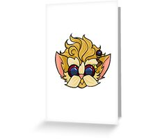 Raise your dongers Greeting Card
