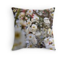Plum Blast Throw Pillow