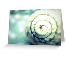 Sounds of the Sea linger on for Infinity ~ Greeting Card
