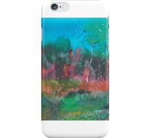 The mysticism of Hanging Rock VIC Australia on silk iPhone Case/Skin