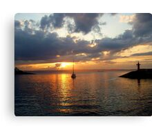 ........just a perfect day..... Canvas Print