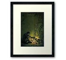 Claude & The Firefly Framed Print