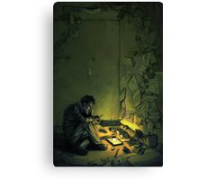Claude & The Firefly Canvas Print