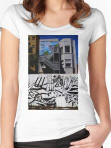 The Art Of The City Women's Fitted Scoop T-Shirt