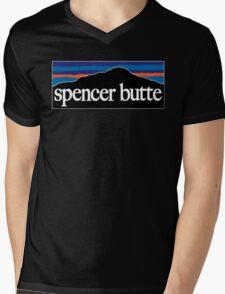 Spencer Butte Mens V-Neck T-Shirt