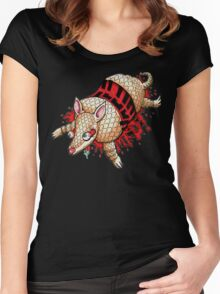 Roadkill Armadillo Women's Fitted Scoop T-Shirt