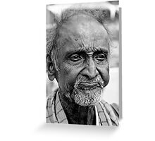friend of the wise beggar Greeting Card