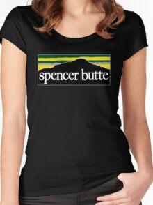 Spencer Butte - Go DUCKS! Women's Fitted Scoop T-Shirt