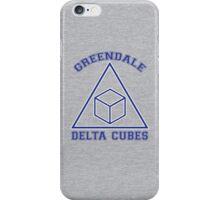 Greendale Delta Cubes Frat iPhone Case/Skin