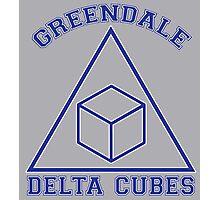 Greendale Delta Cubes Frat Photographic Print