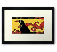 A Crow Left of the Murder Framed Print