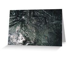 Turbulent Water Greeting Card