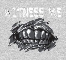 WITNESS ME!  One Piece - Long Sleeve