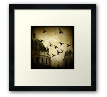 Angel's Melody Framed Print