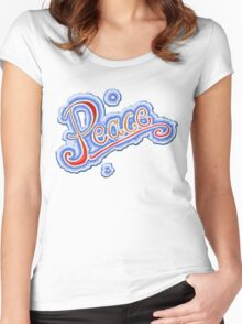 Splash of Peace Women's Fitted Scoop T-Shirt