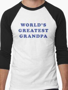 World's Greatest Grandpa Men's Baseball ¾ T-Shirt