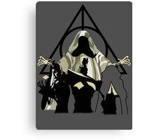 Deathly Hallows Brothers Canvas Print