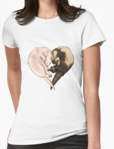 Ferret Love Womens Fitted T-Shirt
