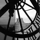 Musee d'Orsay Clock by Susan Chandler