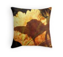 autumn shadow Throw Pillow