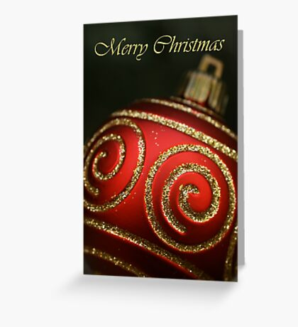Merry Christmas... Greeting Card
