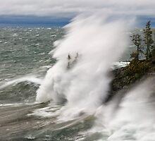 Superior Wave by Michael Treloar
