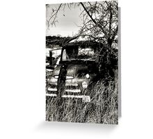 Ole Beater Truck ~2~ (BoneYard Series ) Greeting Card