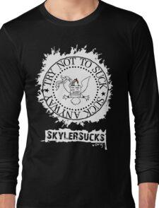 SkylerSucks.org Long Sleeve T-Shirt
