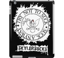 SkylerSucks.org iPad Case/Skin