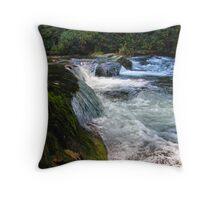 Mountain Stream II Throw Pillow