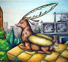 Elk Beetle by Jacquelline Kimminau