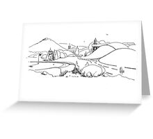 In the Land of Brigadoon Greeting Card