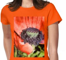 Papaver  Womens Fitted T-Shirt