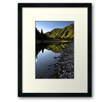 Waioeka gorge Framed Print