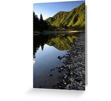 Waioeka gorge Greeting Card