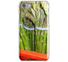 Asparagus Greens iPhone Case/Skin