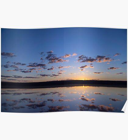 Sunrise Port Gregory Poster