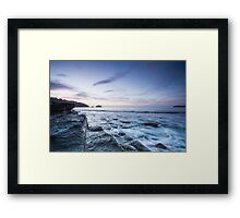 Tessellated Pavement at Dawn Framed Print