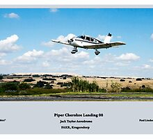 Landings - Piper Cherokee at FAKR by Paul Lindenberg