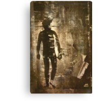 Surf Grunge Canvas Print