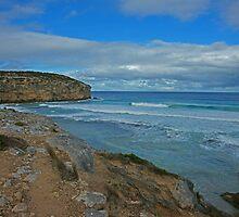Pennington Bay Cliffs by roger smith