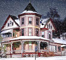 Victorian in Snow by Nadya Johnson