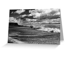 Cullenstown beach, County Wexford, Ireland Greeting Card