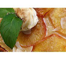 Flammkuchen Avec des Pommes Photographic Print