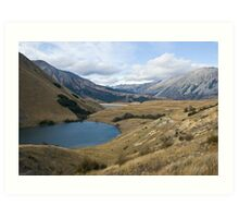 Lake Coleridge Backcountry Art Print