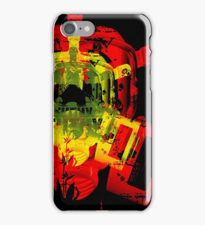 Earth Guerrilla - Filthy Nasty Gas Mask iPhone Case/Skin