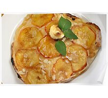 Passionated for Apple Flammekuchen Poster